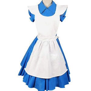 Dresses & Skirts - Alice in Wonderland Cosplay Costume with Wig